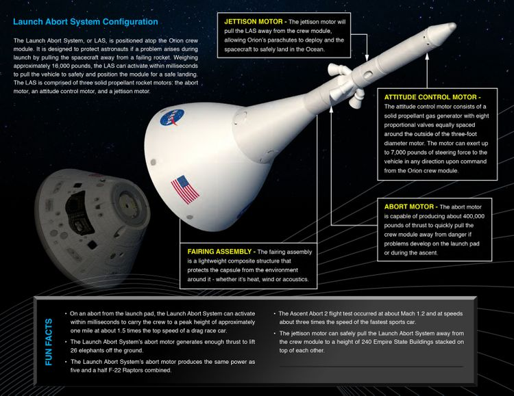 Northrop Grumman to Support NASAs Artemis Missions with Motors for Orion Spacecrafts Launch Abort System_2