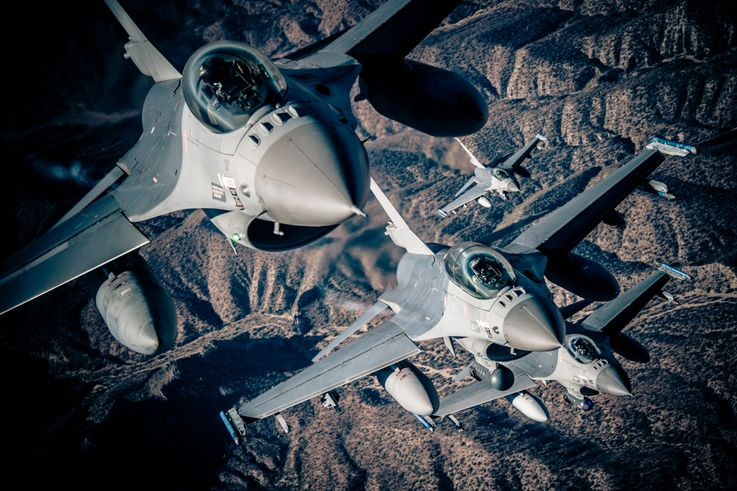 Northrop Grumman Downselected as Sole Contractor for US Air Force F-16 Electronic Warfare Suite