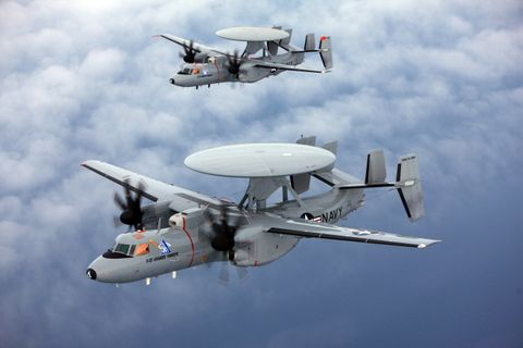 France Signs Agreement to Purchase Northrop Grumman's E-2D Advanced Hawkeye