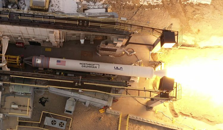Northrop Grumman Successfully Completes Validation Test of New Rocket Motor for United Launch Alliance