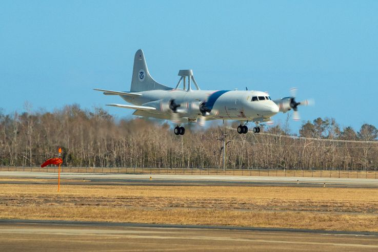 Northrop Grumman's Aircraft Maintenance and Fabrication Center Inducts First CBP P-3 Orion