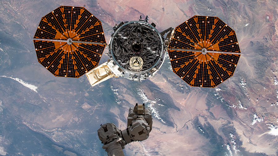 Northrop Grummans NG-14 Cygnus Spacecraft Completes Primary Mission to the International Space Station