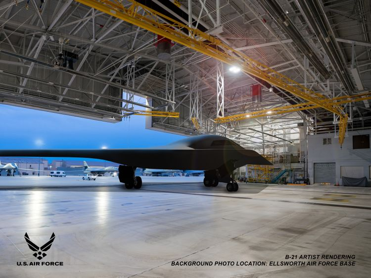 Northrop Grumman Marks Five Years of B-21 Progress with Two Aircraft in Flow