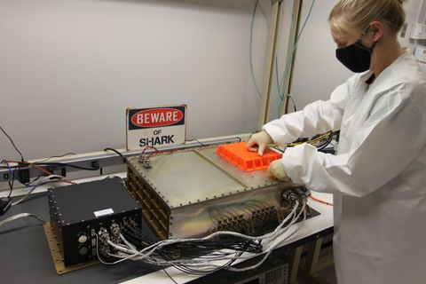 Northrop Grumman's SharkSat Payload Showcases Agility from the Ground to Orbit