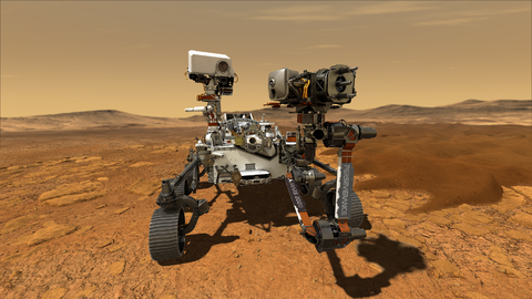 Northrop Grumman Technologies Support NASAs Perseverance Mars Rover