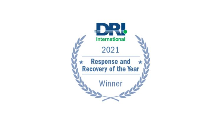 Northrop Grumman Receives Disaster Recovery Institute Internationals Response and Recovery of the Year Award_1