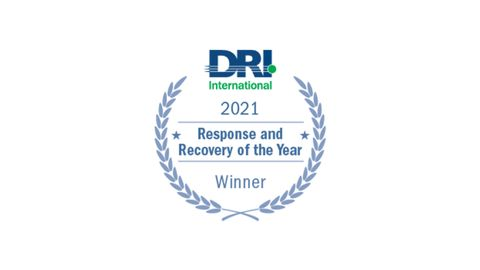 Northrop Grumman Receives Disaster Recovery Institute International's Response and Recovery of the Year Award