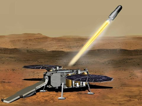 Northrop Grummans Solid Propulsion System Selected to Power Mars Ascent Vehicle