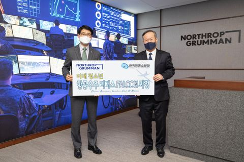 Northrop Grumman Sponsors Young Falcons of Korea Education Program for Future Aerospace Leaders