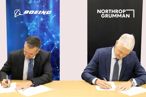 Boeing and Northrop Grumman Australia Join Forces for JP9347