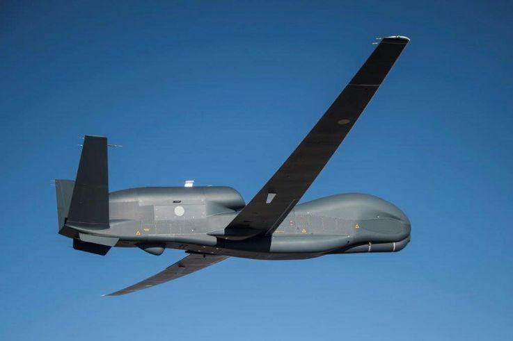 Northrop Grumman Completes Successful First Flight of Japan's RQ-4B Global Hawk