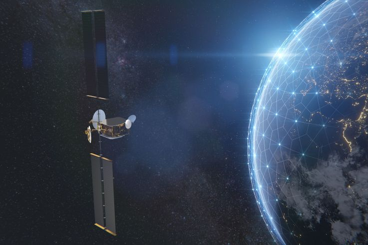Northrop Grumman Solar Arrays to Power Airbus OneSat Spacecraft