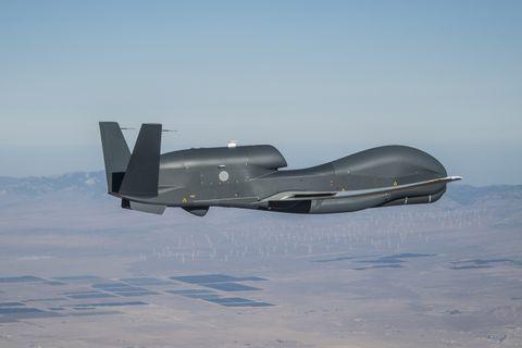 Northrop Grumman Completes Successful First Flight of Japans Second RQ-4B Global Hawk