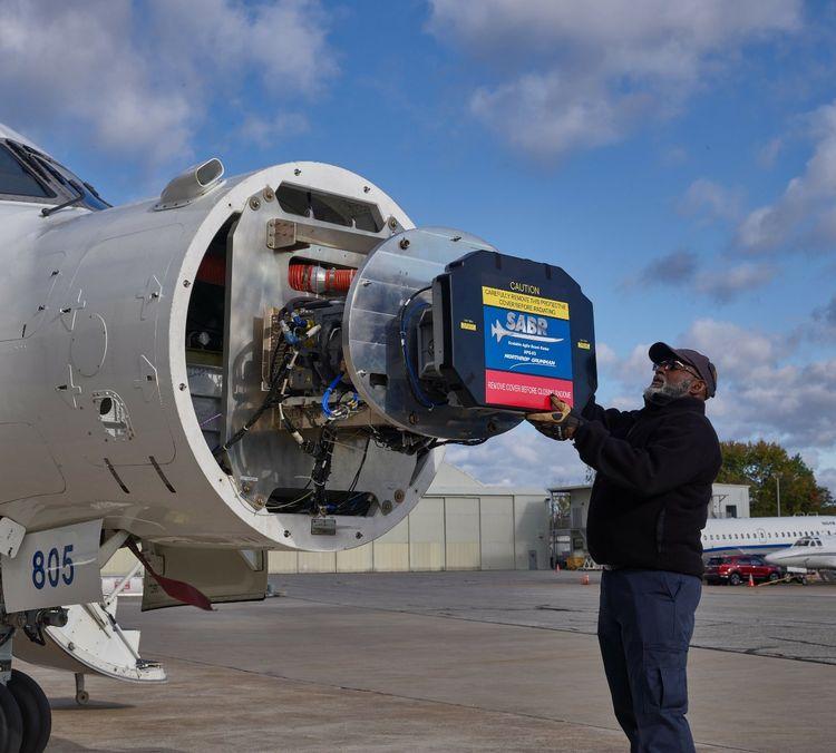 Northrop Grummans SABR Radar Goes Agile