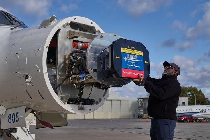 Northrop Grumman's SABR Radar Goes Agile