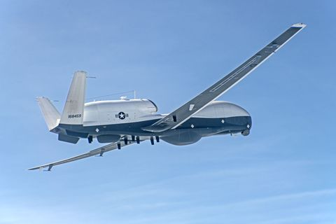 MQ-4C Triton Completes First Flight in Multi-Intelligence Configuration_Japan