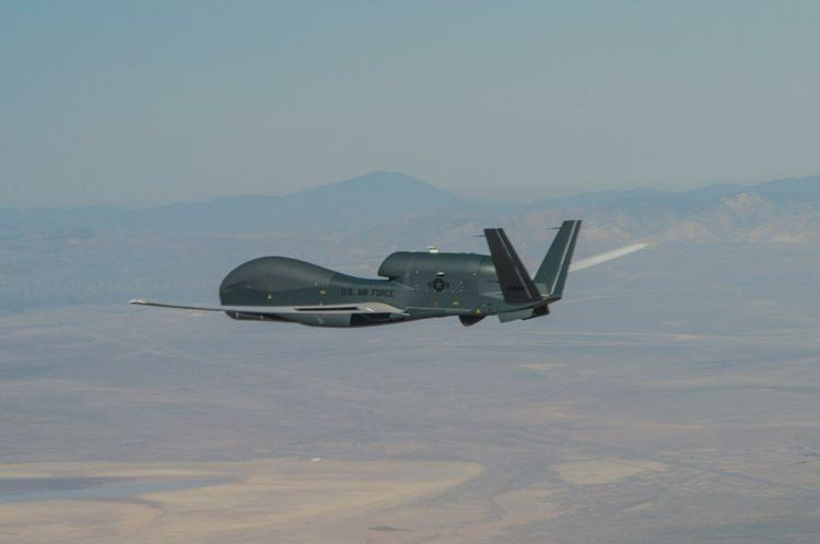 Northrop Grumman Global Hawk Connects the Joint Force in Advanced Battle Management System Exercise