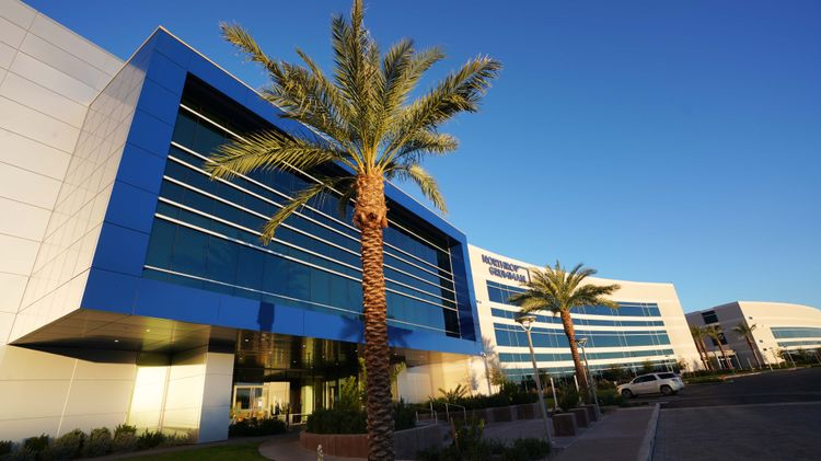 Greenhouse in the Desert - Northrop Grummans Chandler Campus Integrates Green Technology to Create Efficiencies_1