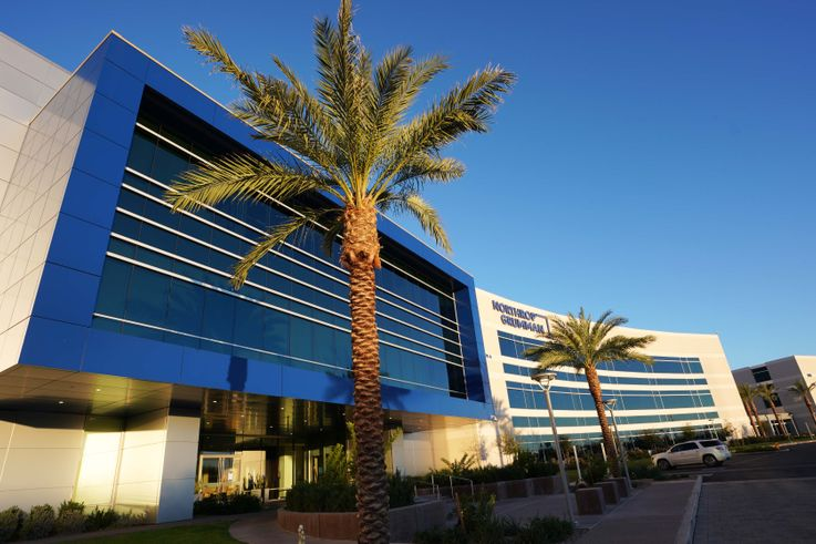 Greenhouse in the Desert: Northrop Grumman's Chandler Campus Integrates Green Technology to Create Efficiencies
