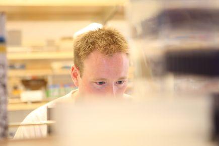Jeffrey Tyner, Ph.D., lab