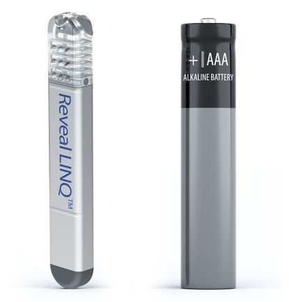 LINQ monitor and AAA battery