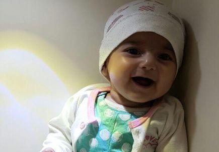 Iranian infant Fatemeh Reshad arrives safely at OHSU Doernbecher