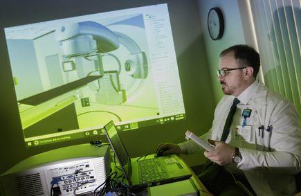 Virtual Environment Radiotherapy Training