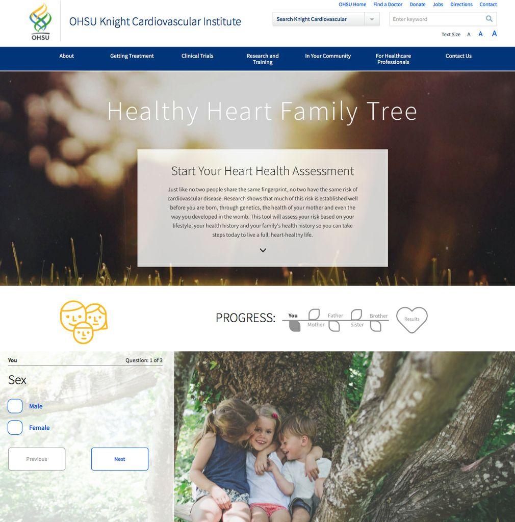 Healthy Heart Family Tree
