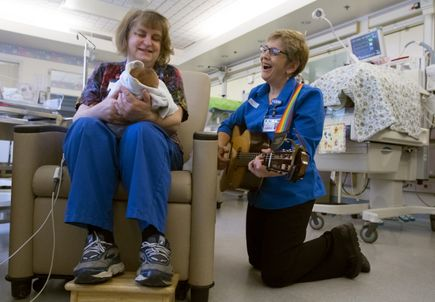 NICU music therapy