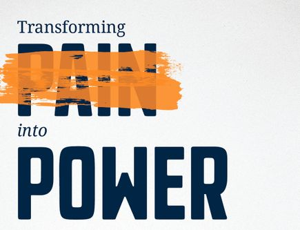 PDF: Transforming Pain into Power forum flier