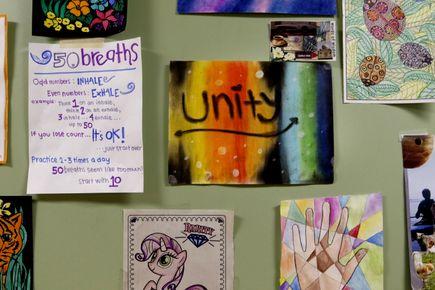 Inside Unity Center