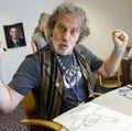 Cartoonists visit Doernbecher
