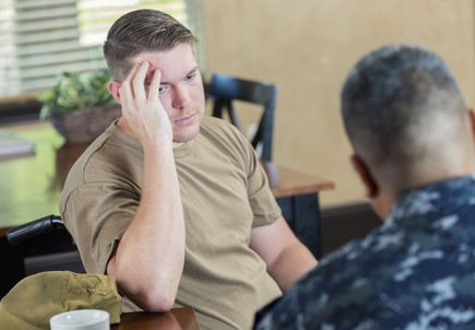 Review finds no definitive standard for identifying and treating veterans at risk for suicide