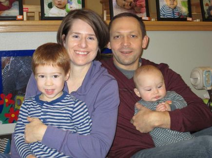 Hydrocephalus: Family then