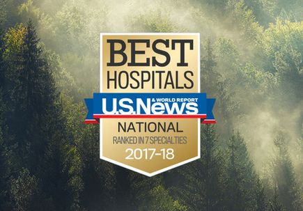 U.S. News names OHSU Hospital No. 1 in Oregon, ranks seven OHSU specialties among best in the nation
