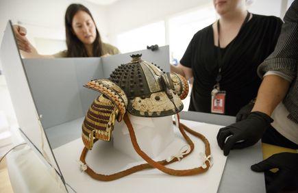 Portland Art Museum Japanese armor