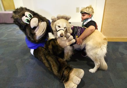 Mascots for a Cure