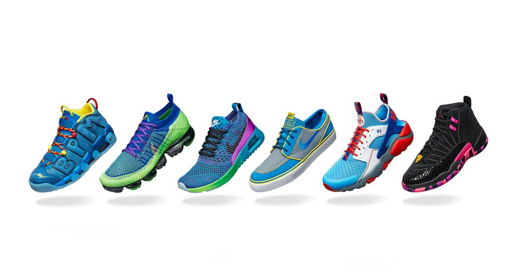 7cee2e4c59c64b The 2017 Doernbecher Freestyle Collection was created by six patients of OHSU  Doernbecher Children s Hospital. (Photo courtesy of Nike)