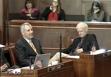 Oregon Legislature honors OHSU President