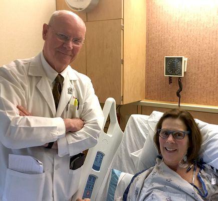 Kidney transplant milestone