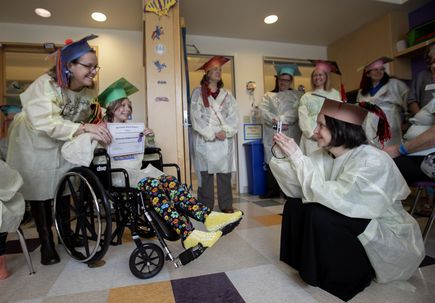 Doernbecher patients get a graduation day of their own