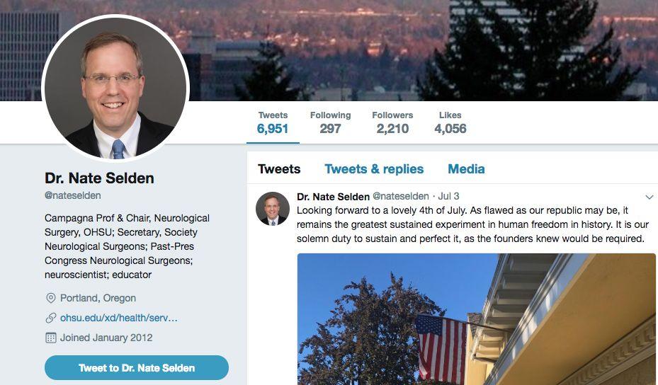 Nate Selden, M.D., Ph.D.