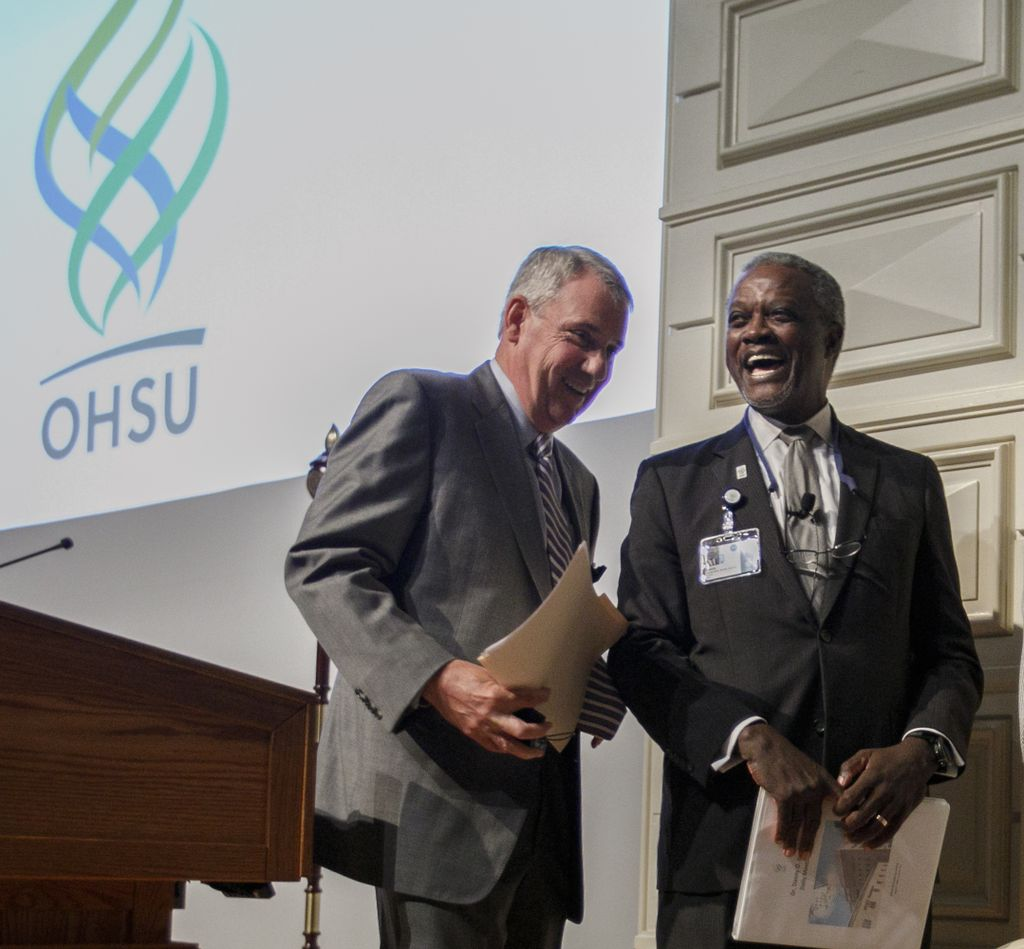 Jacobs leads OHSU