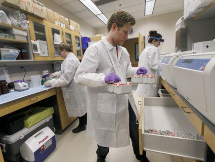 Malaria vaccine research