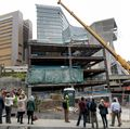 Elks Children's Eye Clinic topping out event