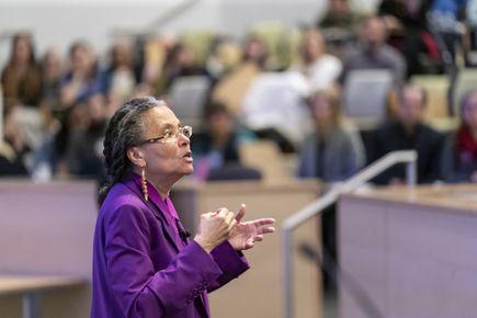Dr. Camara Jones visits OHSU