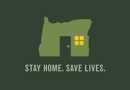 Oregonians must stay home to save lives