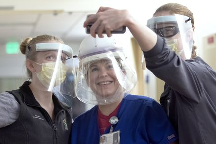 Nike PPE donation