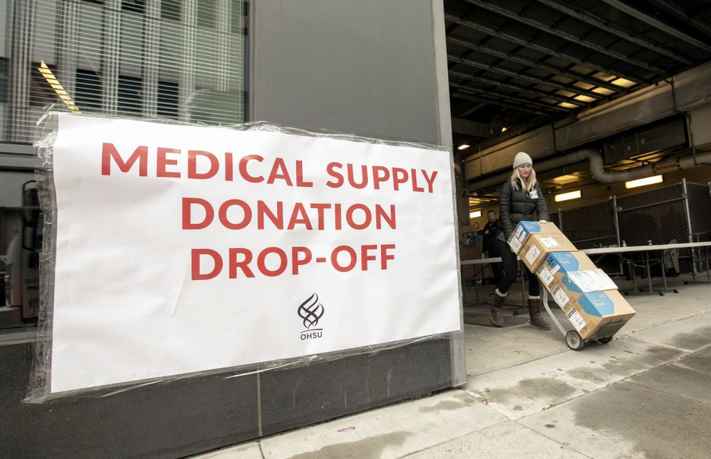 Medical supply donations