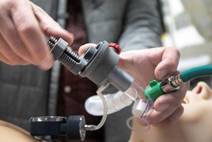 3D-printed ventilator